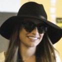 Lea Michele Cracks A Smile