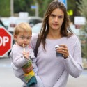 Alessandra Ambrosio Grabs Coffee In Brentwood