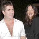 Simon Cowell And Lauren Silverman Dine At Ago
