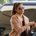 Eva Mendes Arrives At LAX