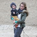 Hilary Duff Goes Make-Up Free With Adorable Son