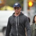 Hugh Jackman Picks His Daughter Up From School