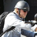 Charlie Hunnam Grabs Lunch At Lulu's