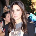Sandra Bullock And George Clooney Promote <em>Gravity</em>
