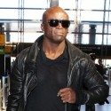Seal Is A Cool Customer At LAX