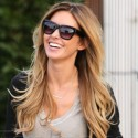 Audrina Patridge Visits The Hair Salon
