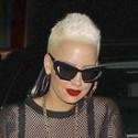 Amber Rose And Wiz Khalifa Hit Hollywood