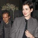 Anne Hathaway And Her Hubby Eat Out