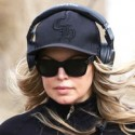 Fergie Goes Jogging With Her Personal Trainer