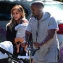 Kim Kardashian, Kanye West And Baby Nori Take Trip To Santa Barbara