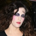Liv Tyler Goes As A Ghoul For Halloween