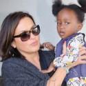 Mariska Hargitay Flies Into LA With Daughter Amaya