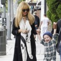 Rachel Zoe Smiles And Steps Out With Son Skyler