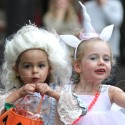 Sarah Jessica Parker's Daughters Celebrate Halloween In The City