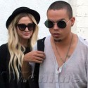 Ashlee Simpson And Evan Ross Go On A Shopping Spree
