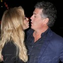 Taylor Armstrong Kisses Fiance John Bluher