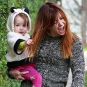 Alyson Hannigan Goofs Around With Daughter Keeva