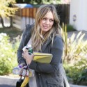 Hilary Duff Visits With An Acting Coach