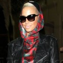 Amber Rose Is Mad For Plaid