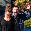 Alessandra Ambrosio Gets Photobombed By Fiance Jamie Mazur