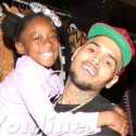 Chris Brown Is On His Best Behavior At Holiday Toy Drive