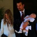 Fergie And Josh Duhamel Take Son Axl To Get Baptized