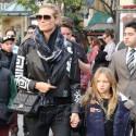 Heidi Klum And Her Family Go To The Grove
