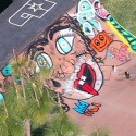 Justin Bieber Paints Miley Cyrus' Face On His Skate Ramp