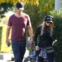 Fergie And Josh Duhamel Walk It Out