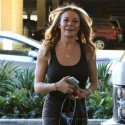 LeAnn Rimes Flashes Some Serious Leg While Wearing A Skintight Dress