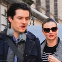 Orlando Bloom And Miranda Kerr Go To The Doctor's Office