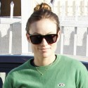 Pregnant Olivia Wilde Takes Her Dog To The Groomers