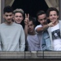 One Direction Greets Their Fans In Italy