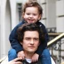 Orlando Bloom Gives Son Flynn A Piggyback Ride