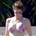 Stephanie Seymour Shows Off Her Bikini Bod In St. Barts
