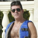 Simon Cowell Gets Ready To Go Jetskiing