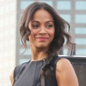 Zoe Saldana Gets All Dolled Up To Promote Her New Film