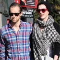 Anne Hathaway And Husband Dine At Hugo's In West Hollywood