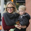 Hilary Duff Holds On To Her Adorable Little Boy