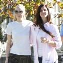 Jaime King And Lana Del Rey Take BFF Stroll