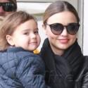 Miranda Kerr Carries Her Darling Son Flynn Around N.Y.C.