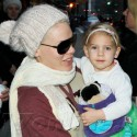 Pink Steps Out With Family In N.Y.C.