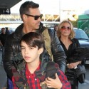 LeAnn Rimes And Eddie Cibrian Jet Out Of LAX