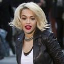 Rita Ora Shoots A DKNY Commercial In N.Y.C.