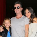 Simon Cowell And Lauren Silverman Get Dinner In Hollywood