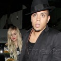 Ashlee Simpson And Evan Ross Hold Hands