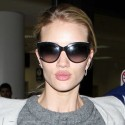 Rosie Huntington-Whiteley's Lips Are Out Of Control At LAX