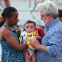 George Lucas Is On Daddy Duty With Baby Everest