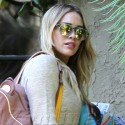 Hilary Duff And Mike Comrie Go About Their Business