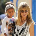 Heidi Klum Spends The Day With Her Four Children